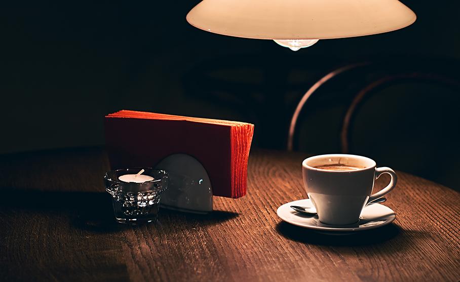 ディナー後のコーヒー